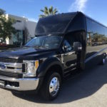 denver party bus by Sunset Luxury Limousines
