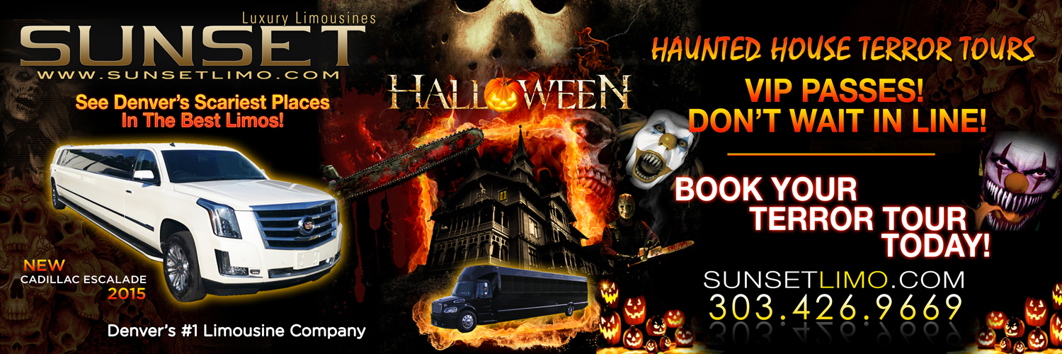 Sunset Luxury Limousines Halloween Terror Tour