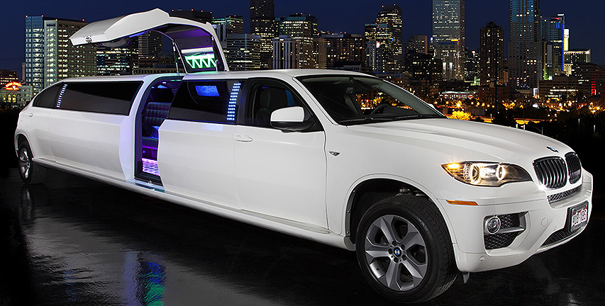 Denver Limo Service Sunset Limo Sunset S White Bmw X6 Limo